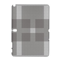 Gray Designs Transparency Square Galaxy Note 1