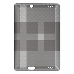 Gray Designs Transparency Square Amazon Kindle Fire Hd (2013) Hardshell Case