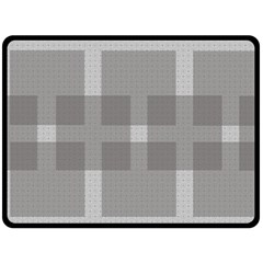 Gray Designs Transparency Square Double Sided Fleece Blanket (large)