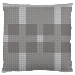Gray Designs Transparency Square Large Flano Cushion Case (two Sides)