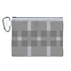 Gray Designs Transparency Square Canvas Cosmetic Bag (l)