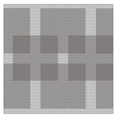 Gray Designs Transparency Square Large Satin Scarf (square)