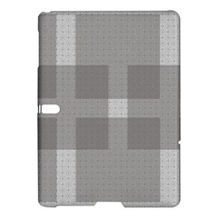 Gray Designs Transparency Square Samsung Galaxy Tab S (10 5 ) Hardshell Case