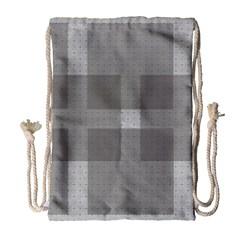 Gray Designs Transparency Square Drawstring Bag (large)
