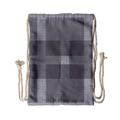 Gray Designs Transparency Square Drawstring Bag (small)
