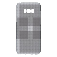 Gray Designs Transparency Square Samsung Galaxy S8 Plus Hardshell Case