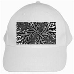 Fractal Symmetry Pattern Network White Cap
