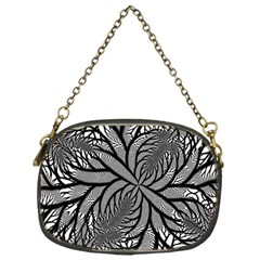 Fractal Symmetry Pattern Network Chain Purses (one Side)