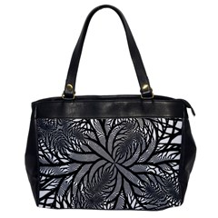Fractal Symmetry Pattern Network Office Handbags