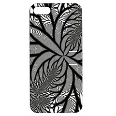 Fractal Symmetry Pattern Network Apple Iphone 5 Hardshell Case With Stand