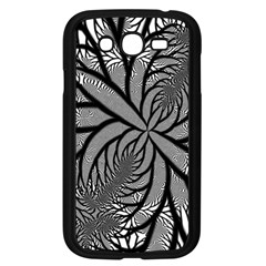 Fractal Symmetry Pattern Network Samsung Galaxy Grand Duos I9082 Case (black)