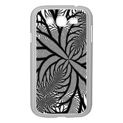 Fractal Symmetry Pattern Network Samsung Galaxy Grand Duos I9082 Case (white)