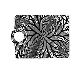 Fractal Symmetry Pattern Network Kindle Fire Hd (2013) Flip 360 Case