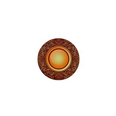 Badge Gilding Sun Red Oriental 1  Mini Buttons