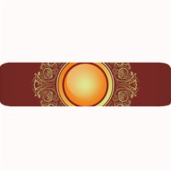 Badge Gilding Sun Red Oriental Large Bar Mats