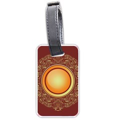 Badge Gilding Sun Red Oriental Luggage Tags (two Sides)