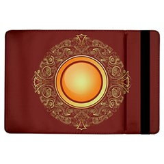 Badge Gilding Sun Red Oriental Ipad Air Flip