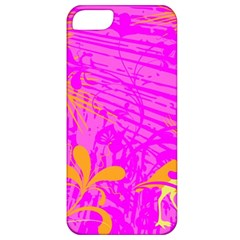 Spring Tropical Floral Palm Bird Apple Iphone 5 Classic Hardshell Case