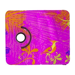 Spring Tropical Floral Palm Bird Galaxy S3 (flip/folio)