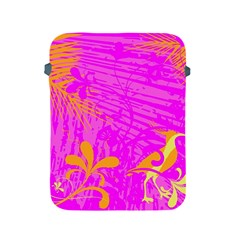 Spring Tropical Floral Palm Bird Apple Ipad 2/3/4 Protective Soft Cases