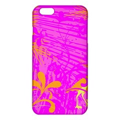 Spring Tropical Floral Palm Bird Iphone 6 Plus/6s Plus Tpu Case