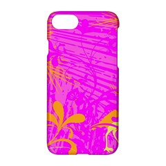 Spring Tropical Floral Palm Bird Apple Iphone 7 Hardshell Case