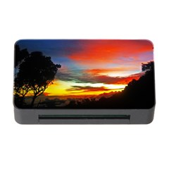 Sunset Mountain Indonesia Adventure Memory Card Reader With Cf