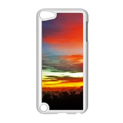 Sunset Mountain Indonesia Adventure Apple Ipod Touch 5 Case (white)