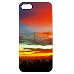 Sunset Mountain Indonesia Adventure Apple Iphone 5 Hardshell Case With Stand
