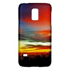 Sunset Mountain Indonesia Adventure Galaxy S5 Mini