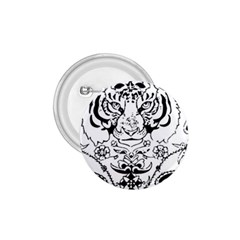 Tiger Animal Decoration Flower 1 75  Buttons