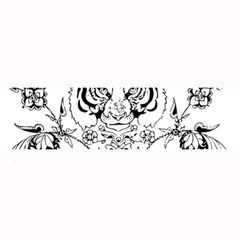 Tiger Animal Decoration Flower Large Bar Mats