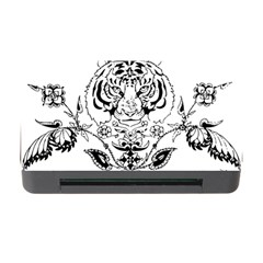 Tiger Animal Decoration Flower Memory Card Reader With Cf
