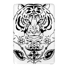 Tiger Animal Decoration Flower Samsung Galaxy Tab Pro 10 1 Hardshell Case