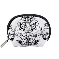 Tiger Animal Decoration Flower Accessory Pouches (small)