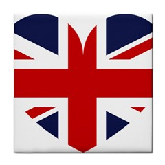 Uk Flag United Kingdom Tile Coasters