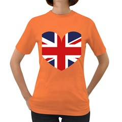 Uk Flag United Kingdom Women s Dark T Shirt