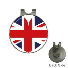 Uk Flag United Kingdom Hat Clips With Golf Markers