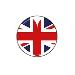 Uk Flag United Kingdom Hat Clip Ball Marker (10 Pack)