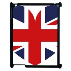 Uk Flag United Kingdom Apple Ipad 2 Case (black)