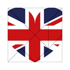 Uk Flag United Kingdom Acrylic Tangram Puzzle (6  X 6 )