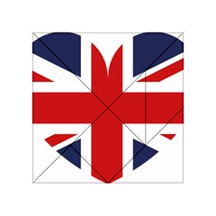 Uk Flag United Kingdom Acrylic Tangram Puzzle (4  X 4 )