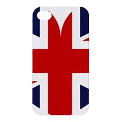 Uk Flag United Kingdom Apple Iphone 4/4s Premium Hardshell Case