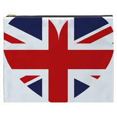 Uk Flag United Kingdom Cosmetic Bag (xxxl)