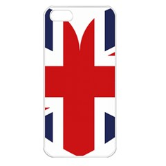 Uk Flag United Kingdom Apple Iphone 5 Seamless Case (white)
