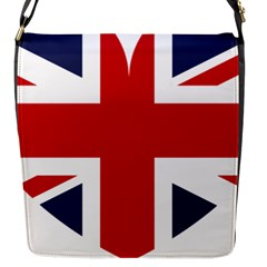 Uk Flag United Kingdom Flap Messenger Bag (s)