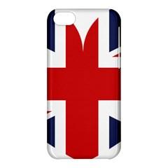 Uk Flag United Kingdom Apple Iphone 5c Hardshell Case
