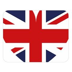 Uk Flag United Kingdom Double Sided Flano Blanket (large)