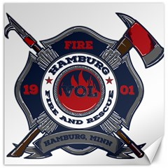 Hamburg, Minn Fire Dept Canvas 12  X 12