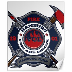 Hamburg, Minn Fire Dept Canvas 16  X 20